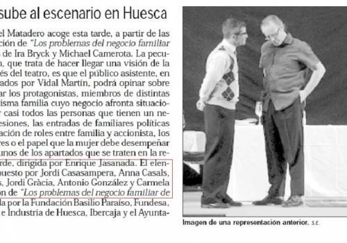 EMPRESA FAMILIAR - CÁMARA HUESCA