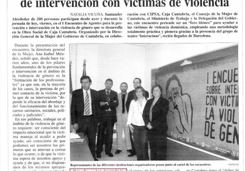 VIOLENCIA DE GÉNERO - CANTABRIA