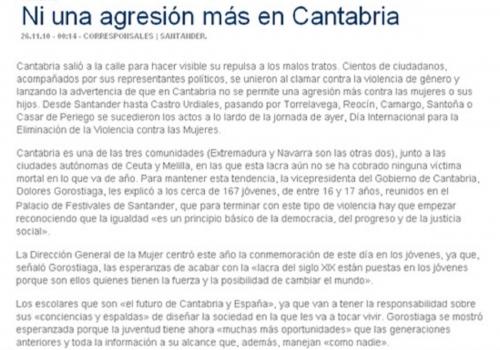 LA DECISIÓN - CANTABRIA