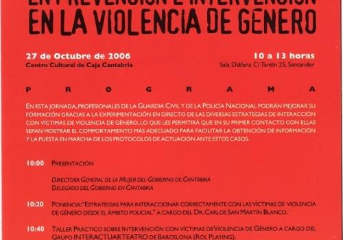 VIOLENCIA DE GÉNERO - ROLE PLAY